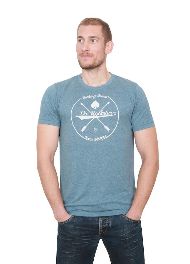 angemessener Preis einzigartiger Stil überlegene Leistung Dr Rockstar - Imperial Shirt - denim/white