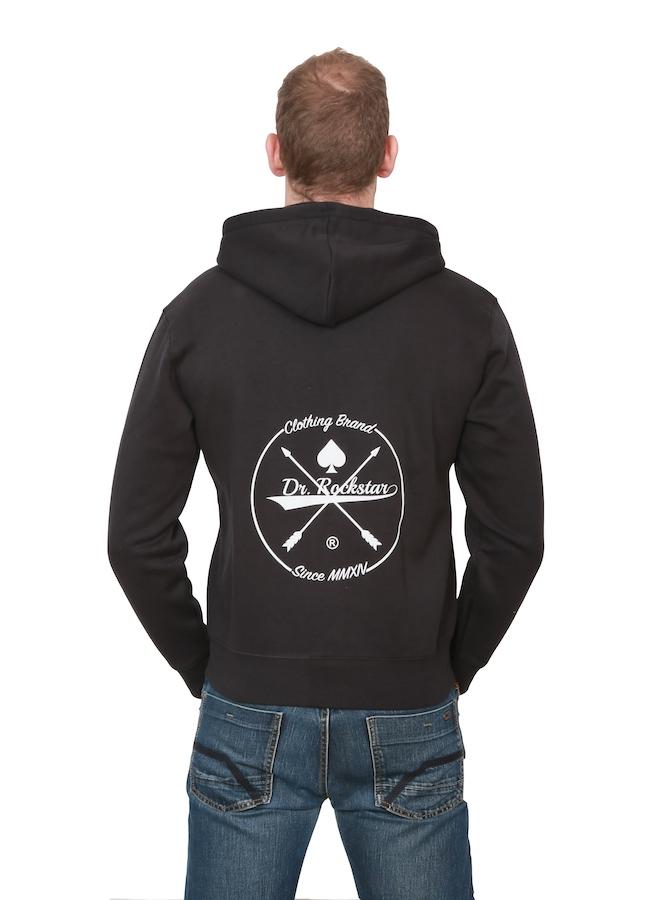 Wählen Sie für neueste niedrigerer Preis mit unverwechselbares Design Dr Rockstar - Imperial Zipper - black/white
